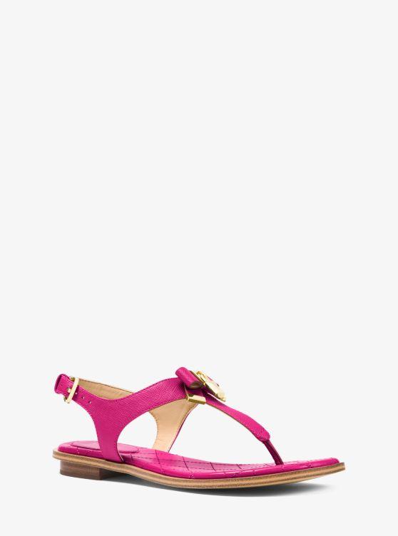 Alice Saffiano Leather Sandal by Michael Michael Kors