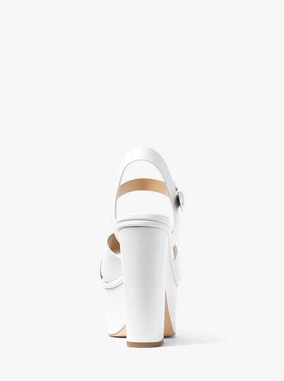 f984adc104a Divia Leather Platform Sandal