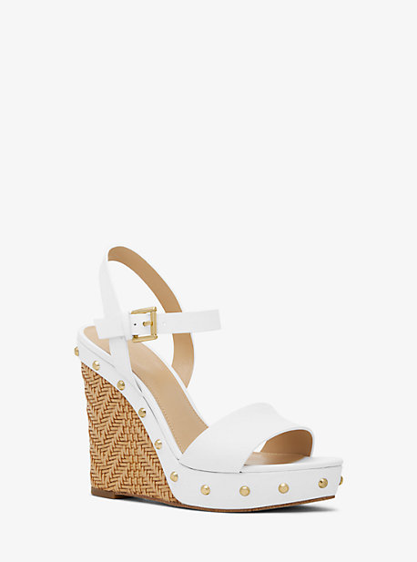 Ellen Leather Wedge