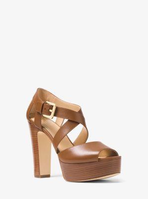2ea540c305f3 Jodi Leather Platform Sandal