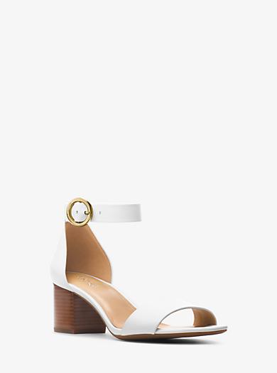 8b907f638f0 Lena Leather Sandal