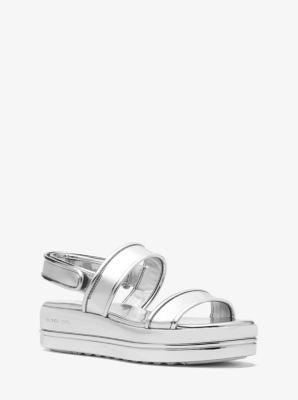 15ccbe2bae1e Peggy Metallic Platform Sandal