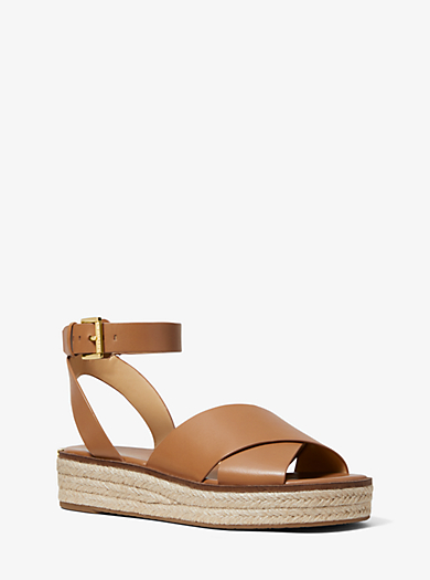 a12915b0072a1 Abbott Leather Espadrille Sandal. Find a Store. Sign Up for updates from Michael  Kors