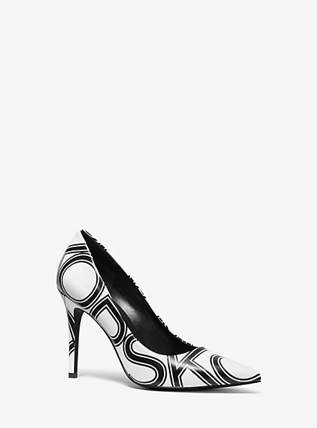 abe9f165295 Claire Graphic Logo Leather Pump · michael michael kors · Claire Graphic  Logo Leather Pump ·  125.00 125.00 · Claire Crackled Metallic Leather Pump