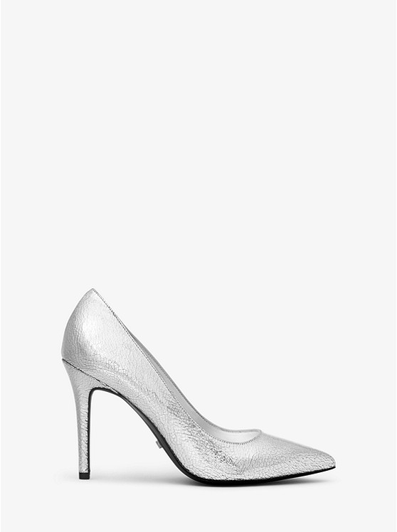 f02a36b6142 Claire Crackled Metallic Leather Pump Claire Crackled Metallic Leather Pump  ...