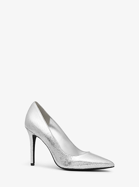 22b1f397b Claire Crackled Metallic Leather Pump · michael michael kors ...