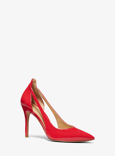 189fd71f40c Cersei Patent Leather Cutout Pump · michael michael kors ...