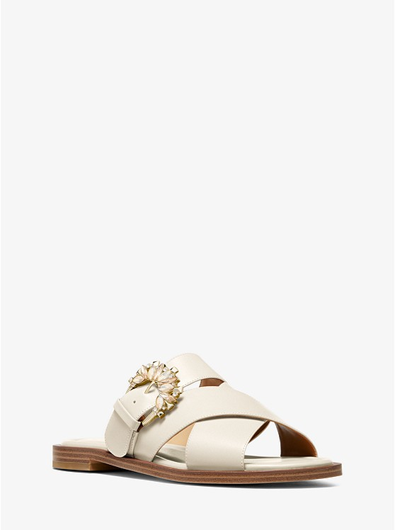 Frieda Leather Sandal by Michael Michael Kors