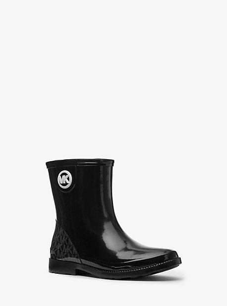 마이클 마이클 코어스 부츠 Michael Michael Kors Benji Logo Rain Boot,BLACK