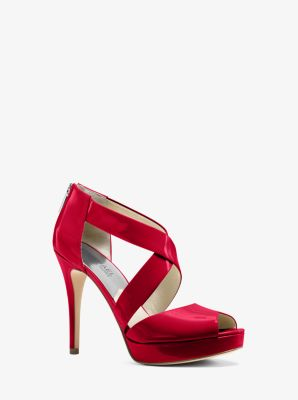 44ebd3cab78 Ariel Patent-Leather Platform Sandal. Find a Store. Sign Up for updates  from Michael Kors
