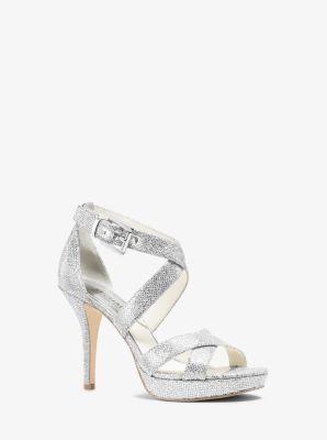 dac97ebc0f4 Evie Glitter Platform Sandal