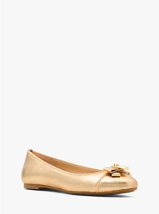 d38ae157921 Alice Metallic Leather Ballet Flat