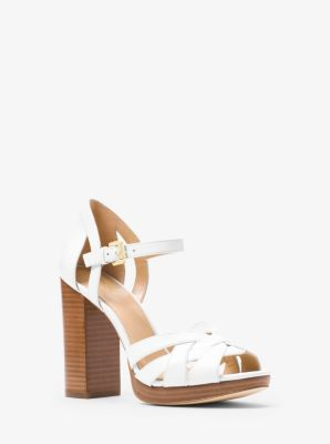 d072b2821d5 Annaliese Leather Platform Sandal. Find a Store. Sign Up for updates from Michael  Kors