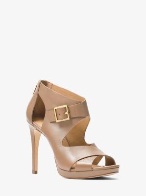 398202c3ff5 Kimber Leather Platform Sandal