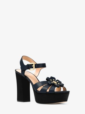 MICHAEL e3Z57rYkdz Tara Platform Sandals