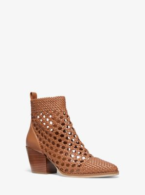 Augustine Woven Ankle Boot by Michael Michael Kors