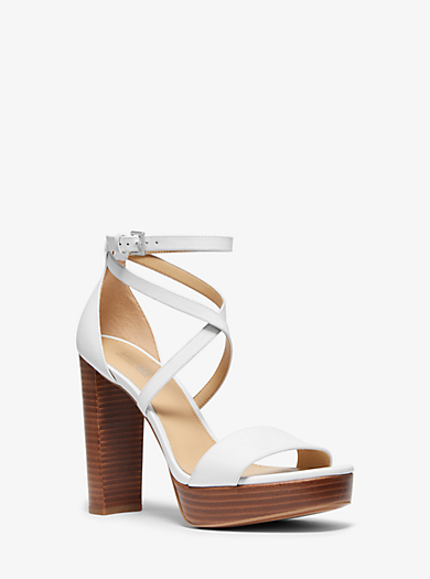 8d39051ca Charlize Leather Platform Sandal. michael michael kors ...