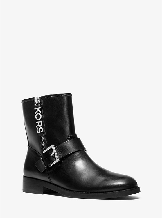 Goldie Leather Moto Boot by Michael Michael Kors