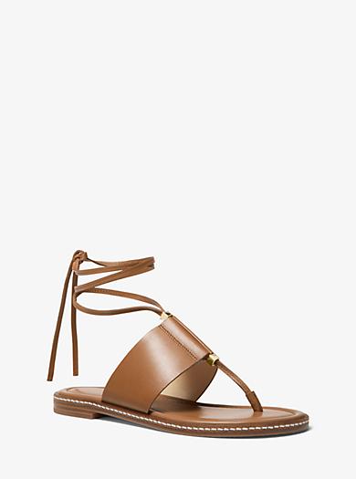 3f341883f6e7 Marlon Leather Lace-Up Sandal