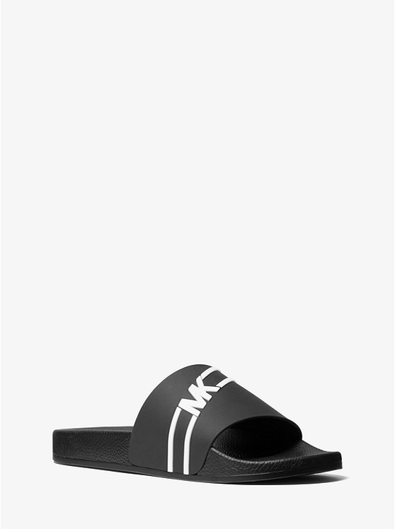 Jake Logo Slide Sandal by Michael Kors Mens