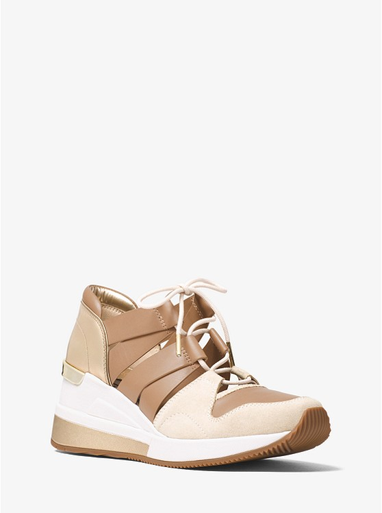 Beckett Suede and Leather Sneaker