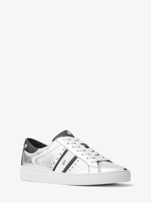 Atemberaubend Frankie Studded Metallic Leather Sneaker | Michael Kors #DZ_56