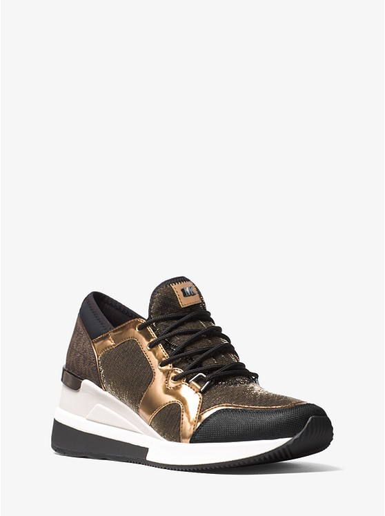 Scout Mesh and Logo Sneaker