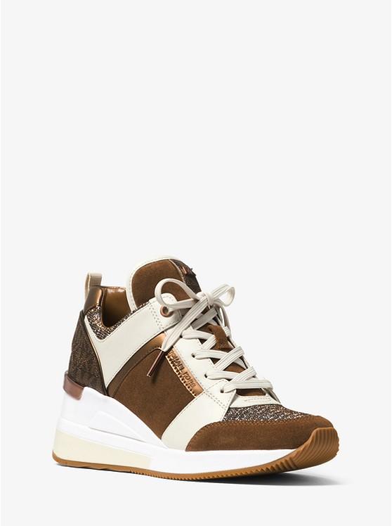 316d3e7744f Georgie Mixed-Media Sneaker ...