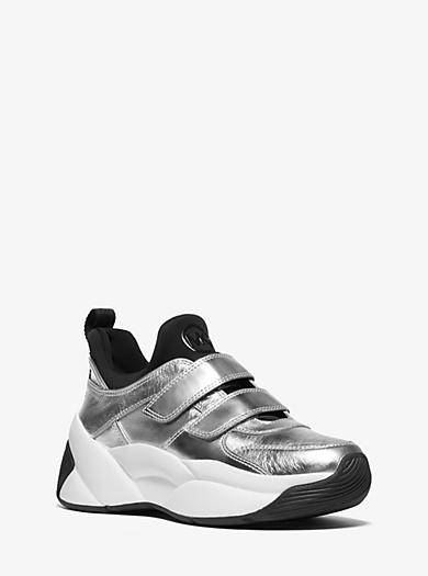 new concept 72199 9f2fb Designer-sneaker   Sneakers Aus Leder   Michael Kors