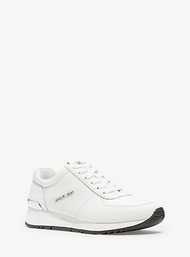 e2bcd1b7a97a Allie Leather Sneaker · michael michael kors · Allie Leather Sneaker