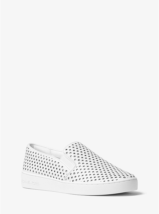 f2e1637f06712 Keaton Perforated Leather Slip-On Sneaker preview0 ...