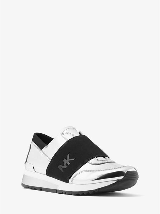 aee716c7fe71 Home   Metallic Logo Sneaker. Metallic Logo Sneaker preview0