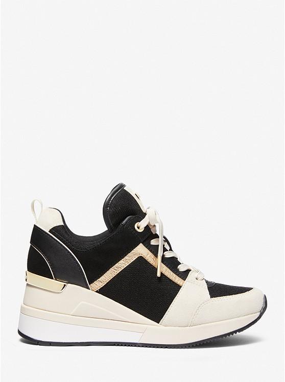 Dreifarbiger Sneaker Georgie Aus Materialmix | Michael Kors