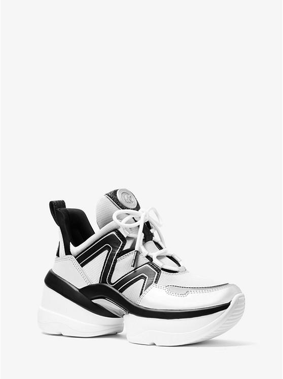 Michael Kors 'mk Olympia' Sneakers Damen Schuhe Sneaker In