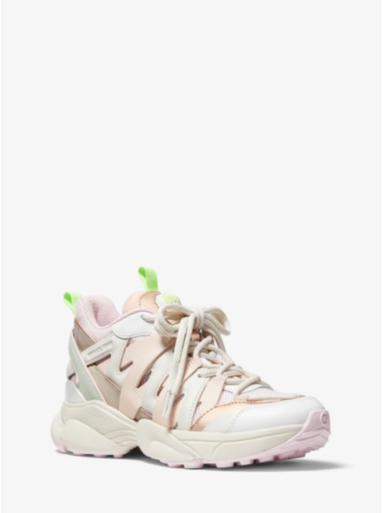 Hero Leather and Mesh Trainer