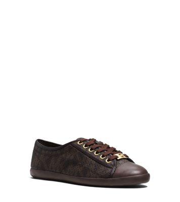 perforated wedge heel sneakers - Black Michael Kors o7YdUugK9V