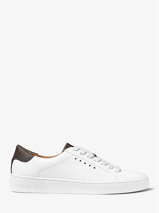 dce8b8e33a3e9 Irving Leather and Logo Sneaker Irving Leather and Logo Sneaker ...