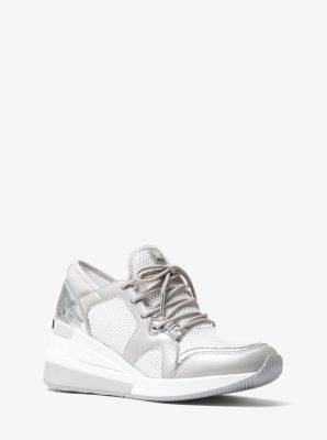 388afe077b87 Liv Leather and Mesh Trainer