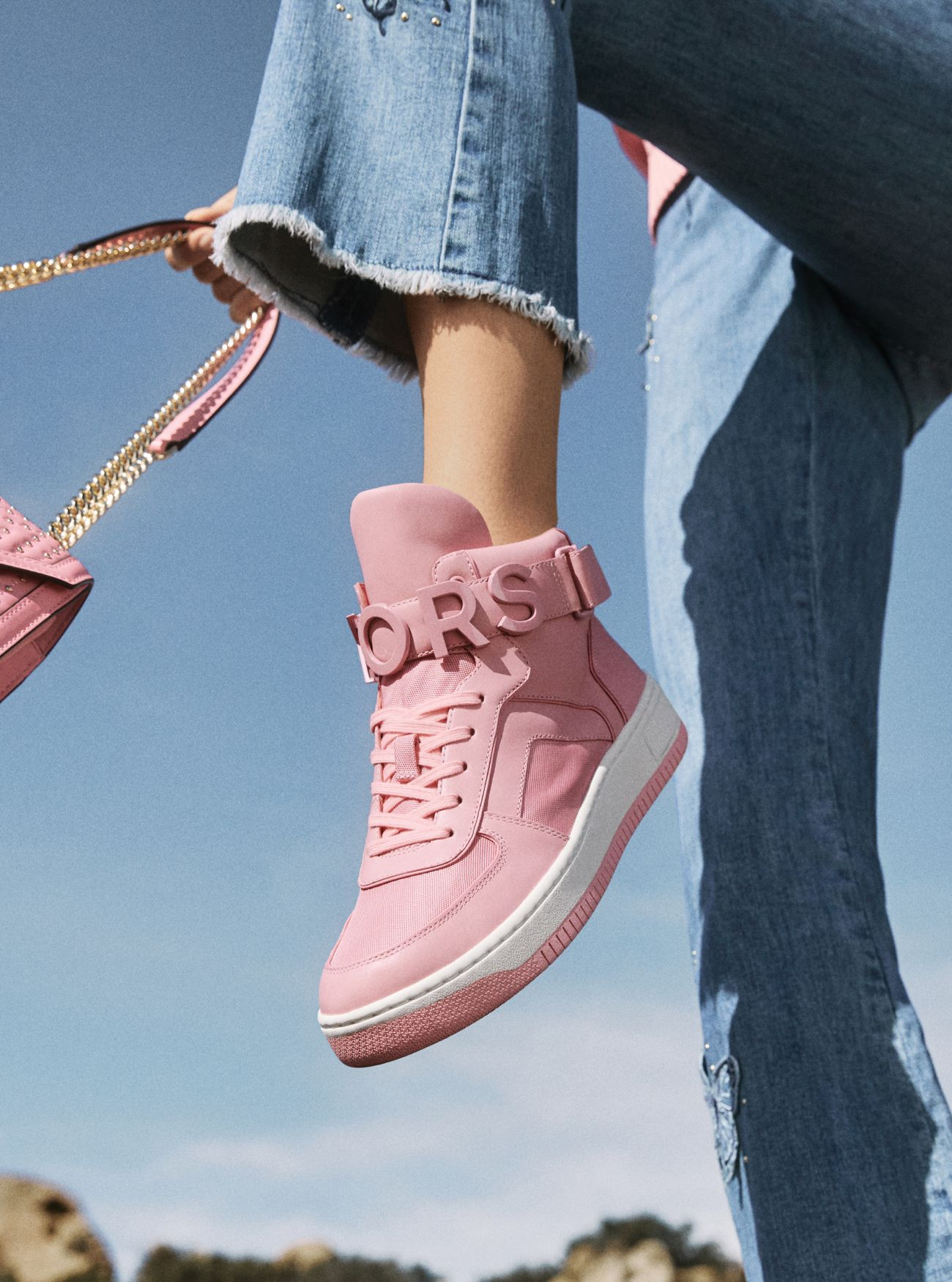 9cd997d704eef ... Cortlandt Embellished Leather High-Top Sneaker