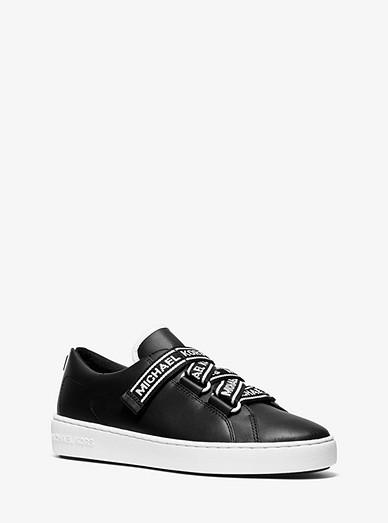 620da23dff178 Casey Logo Tape Leather Sneaker