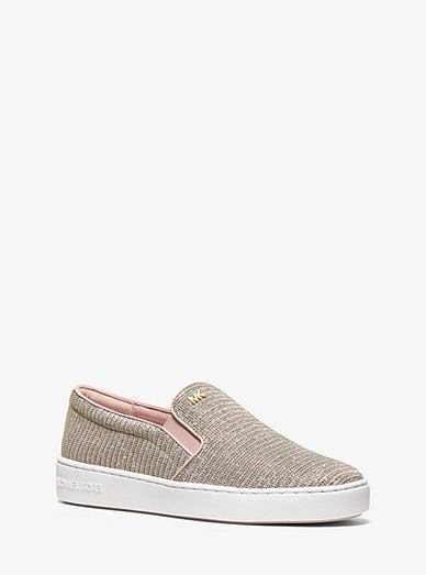 72daa2d9ccb8bb Keaton Chain-mesh Slip-on Sneaker | Michael Kors