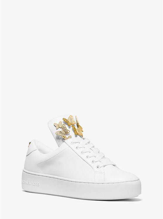 shop for best how to choose world-wide renown Mindy Butterfly Appliqué Leather Sneaker