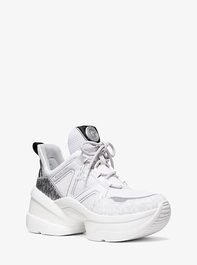7a7f4be580 Sneaker Olympia in mesh con logo. michael michael kors · Sneaker Olympia in  mesh con logo