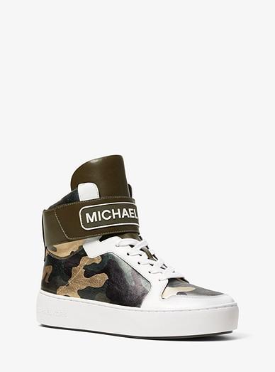 0b563f35402 Trent Metallic Camo High-top Sneaker