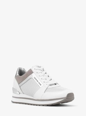 c3c8b476a2d6 Billie Mesh and Leather Sneaker