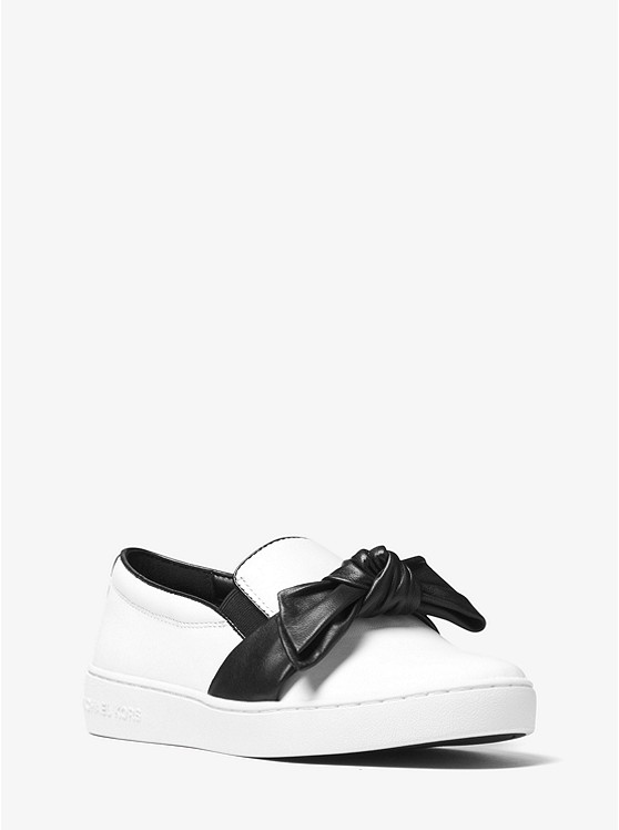 Willa Leather Slip-On Sneaker