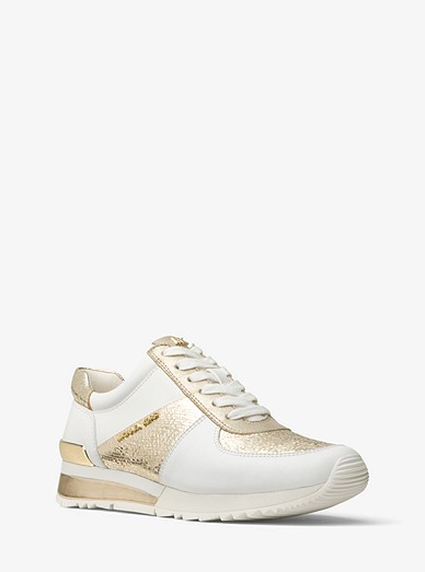d88c3fb20972 Allie Metallic Leather Sneaker