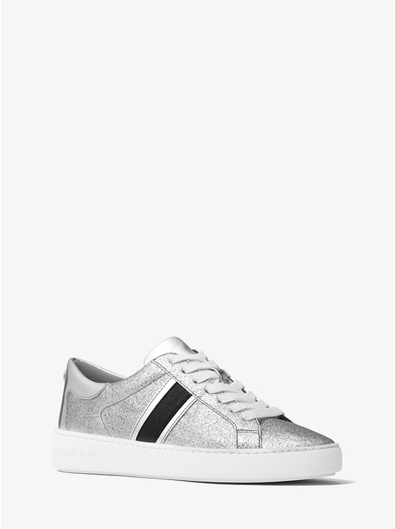 Keaton striped glitter sneakers Free Shipping Supply Cost Cheap Online M5gdA