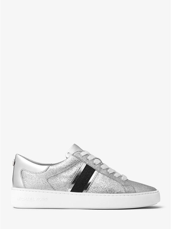 Keaton striped glitter sneakers Discount Outlet IXQm7wMgs
