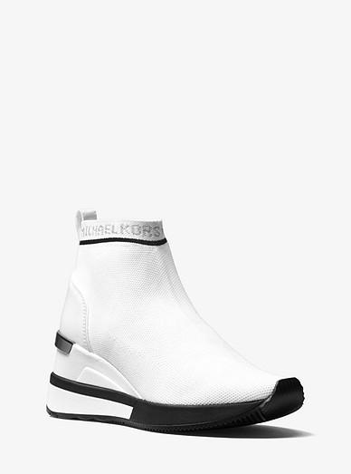 fbf3f64910f4 Skyler Logo Stretch-knit Sock Sneaker